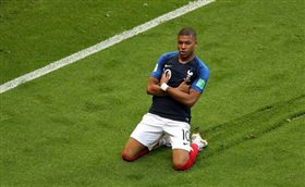 法國球星姆巴佩Kylian Mbappe。(圖/翻攝自Kylian Mbappe IG)