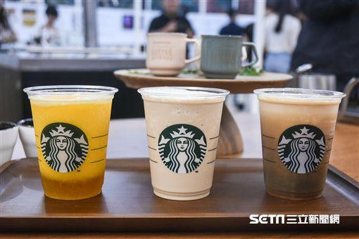 星巴克咖啡旅程特展。 (圖/記者林敬旻攝)