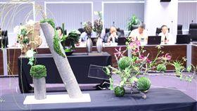 台中花博,市政會議花團錦簇