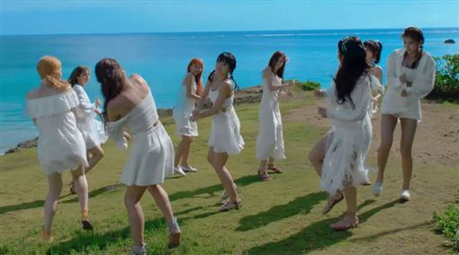 TWICE/翻攝自JYP YouTube