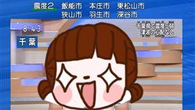 大叔,T恤.NHK,代打,播報,五十嵐,地震,主播 圖/翻攝自YouTube https://goo.gl/Y2DH9o