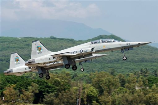 F5E戰機 翻攝自全民國防教育網