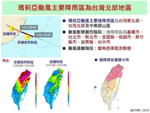 瑪莉亞,颱風,國家災害防救科技中心,暴風,致災
