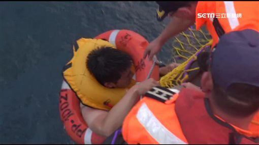 訓練機失事3人落海獲救! 2出院1留觀