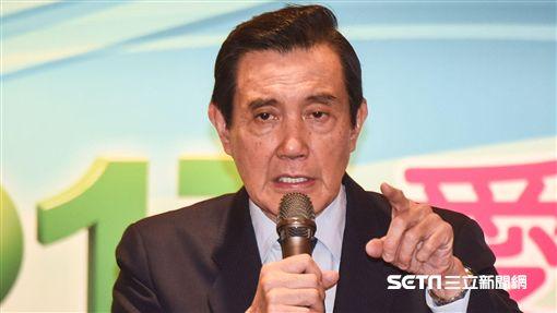 前總統馬英九出席2017愛台灣高峰論壇。圖/記者林敬旻攝 ID-1438466