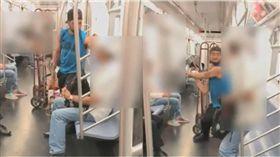 地鐵拒絕遊民「討零錢」 竟被打到頭骨骨折 圖/翻攝自紐約時報