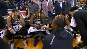 Kerr曾讓球員們自己執教(圖/翻攝自YouTube)