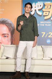 泰國電影「把哥哥退貨可以嗎」男主角泰國影帝Sunny。(記者邱榮吉/攝影)