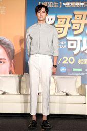 泰國電影「把哥哥退貨可以嗎」男主角2PM團員尼坤。(記者邱榮吉/攝影)