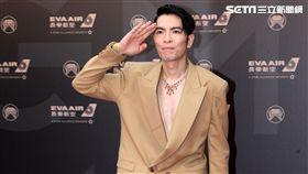 29屆金曲獎頒獎典禮主持人蕭敬騰。(記者邱榮吉/攝影)