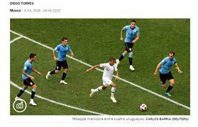▲法國隊中場球星姆巴佩被爆料遭內馬爾霸凌。(圖/截自西班牙媒體)