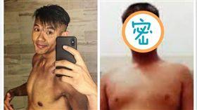 ▲黑人近來健身有成,變成一枚俊帥型男。(圖/翻攝自臉書)