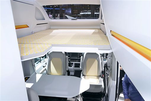 California XXL Crafter概念車。(圖/翻攝Volkswagen網站)