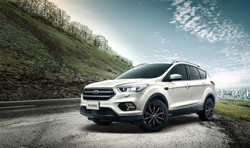 New Ford Kuga勁黑版。(圖/Ford提供)