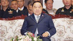 16:9 泰國副總理普拉威主持政黨座談泰國政府25日邀請各政黨代表討論政黨活動禁令和選區畫分等議題。由副總理普拉威(Prawit Wongsuwon)主持。中央社記者劉得倉曼谷攝 107年6月25日