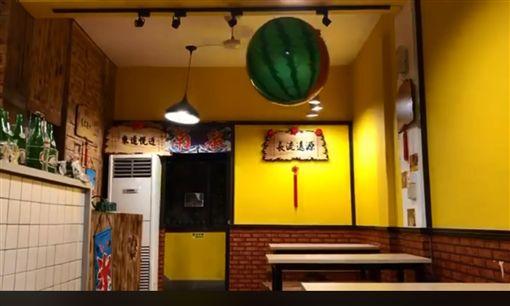 南泉冰菓室也在臉書PO出地震當下的搖晃畫面(圖/翻攝自南泉冰菓室臉書)