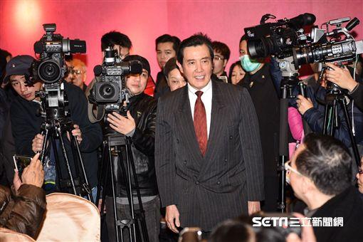 前總統馬英九。 圖/記者林敬旻攝