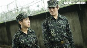 在《女兵日記》飾演女兵葉素娥的梁舒涵意外受網友喜歡。(圖/TVBS提供)
