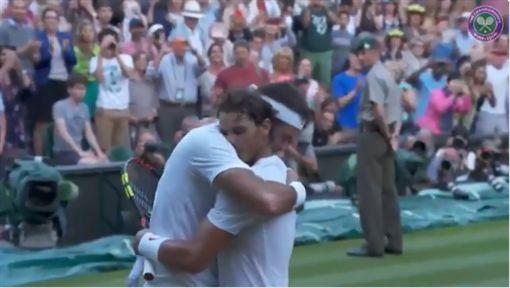 納達爾,Rafael Nadal,運動家精神,溫布頓,溫網,波特羅,Juan Martin del Potro/溫布頓官方twitter