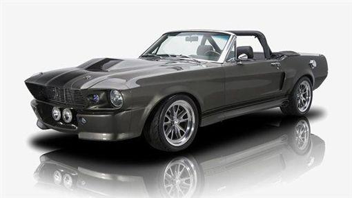「驚天動地60秒」的1967年Mustang。(圖/翻攝BNMC網站)