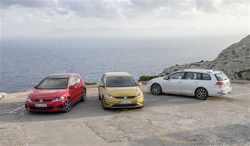 ▲Golf家族車款。(圖/Volkswagen提供)