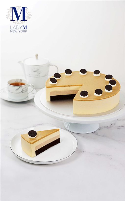 Lady M皇家奶茶慕斯蛋糕。(圖/Lady M提供)
