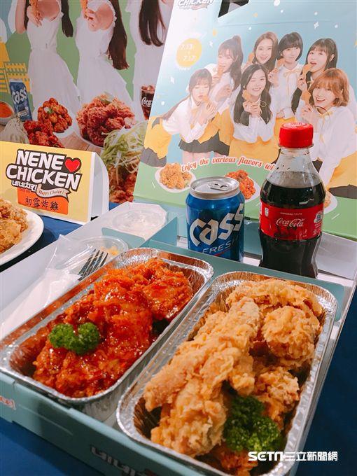 NeNe Chicken,韓式炸雞,韓國,炸雞。(圖/記者馮珮汶攝)