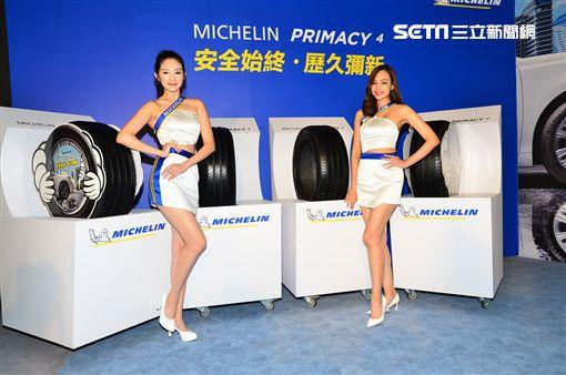 Michelin Primacy 4輪胎。(圖/鍾釗榛攝影)