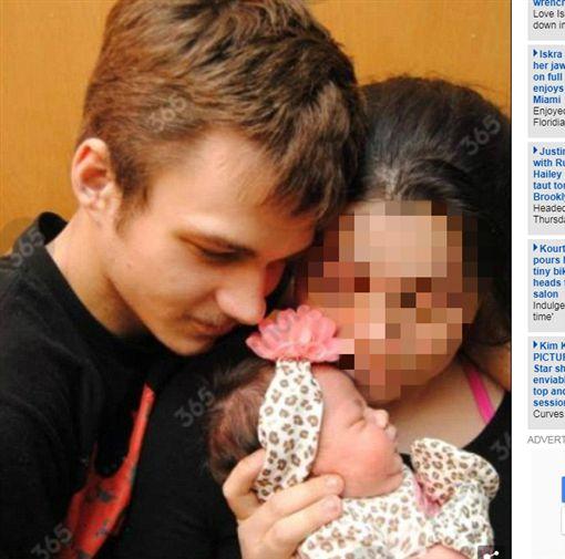 美國,Tyler Buchanan,父親,女兒,悶死(圖/翻攝自《每日郵報》)