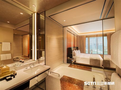 2018上半年全球最新旅館。澳門美獅美高酒店。(圖/易遊網提供)