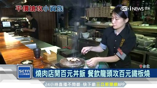 燒肉店,丼飯,餐飲,百貨,平價
