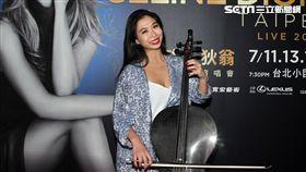 康瑋倫坦言對於席琳狄翁在台上特別介紹她來自台灣時,感到意外又感動。(圖/記者邱榮吉攝影)