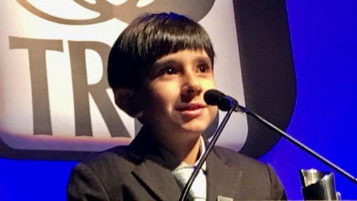 巴西8歲男童巴瑞拉(Joao Paulo Guerra Barrera)。(圖/翻攝推特)