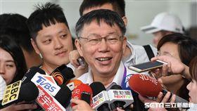台北市長柯文哲出席新南向政策論壇。 (圖/記者林敬旻攝)
