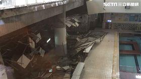 南港運動中心,游泳池,意外,天花板,輕鋼架,