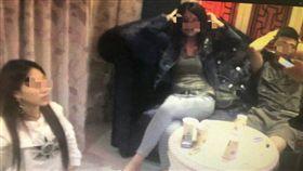 台中,毒品,K他命,傳播妹,摸胸,猥褻,轟趴(圖/翻攝畫面)