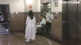 台北,藍寶堅尼,游瀚甯,輪椅(圖/翻攝畫面)
