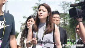 台北市政府副發言人林筱淇。 (圖/記者林敬旻攝)