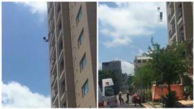 台南市一名女子跳樓自殺身亡(圖/翻攝自臉書)
