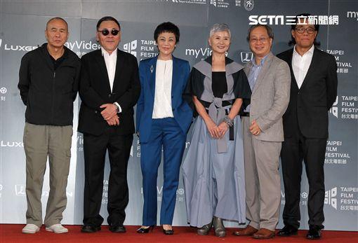 2018台北電影獎頒獎典禮評審團。(記者邱榮吉/攝影)