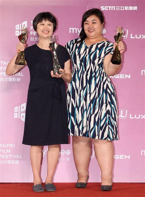 2018第20屆台北電影獎頒獎典禮「幸福路上」獲得百萬首獎及觀眾票選獎。(記者邱榮吉/攝影)