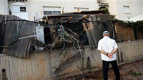 以色列猛轟加薩走廊 近4年最大規模空襲!毀民宅釀死傷 圖/路透社/達志影像