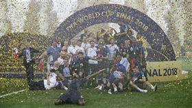 ▲ 法國拿下世界盃冠軍。(圖/美聯社/達志影像)