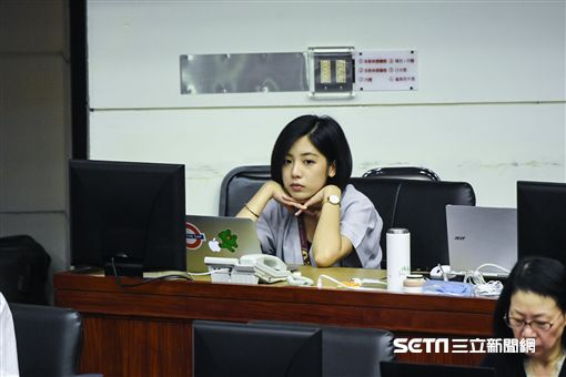 台北市政府研究員黃瀞瑩。 (圖/記者林敬旻攝)