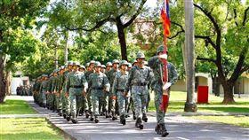 106年三軍九校院聯合入伍訓練開訓典禮(圖/陸軍司令部提供)