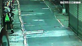 台大博士生到同安街的「莆仙同鄉會」縱火後遭逮(翻攝畫面)