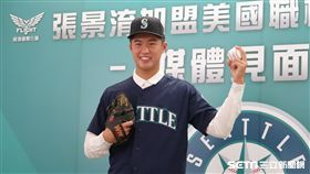 水手隊簽下台灣投手張景淯。(圖/記者王怡翔攝)