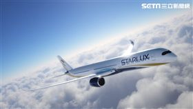 星宇航空,空中巴士A350客機,新塗裝彩繪。(圖/星宇航空提供)