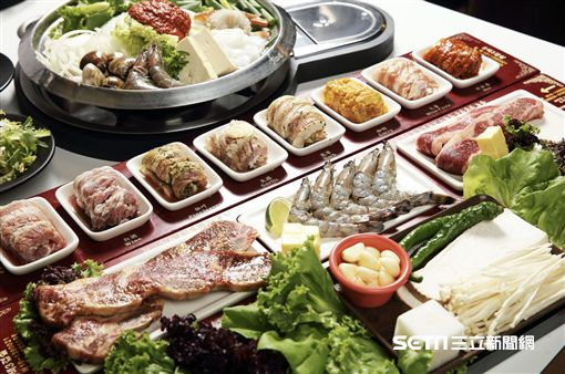 韓國八色烤肉進軍台中。(圖/八色烤肉提供)