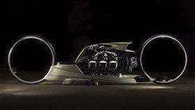TMC Dumont概念機車。(圖/翻攝tarsomarques網站)